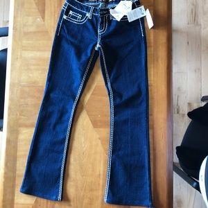 Seven7 NWT dark wash bootcut jeans